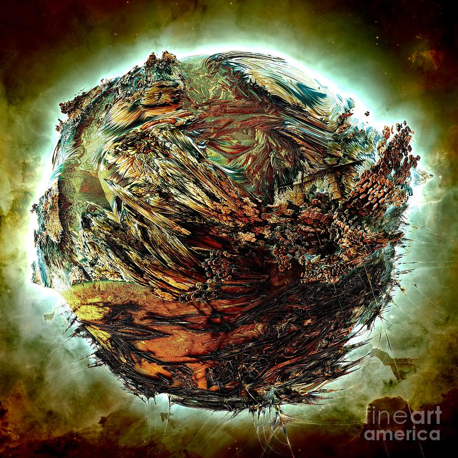 Digital Digital Art - Wild Planet by Bernard MICHEL