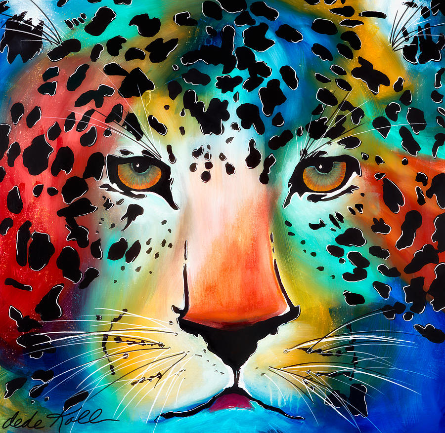 Acrylic Painting - Wild Thing by Dede Koll