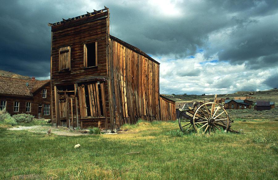 Wild West Bodie Photograph By Kathy Yates