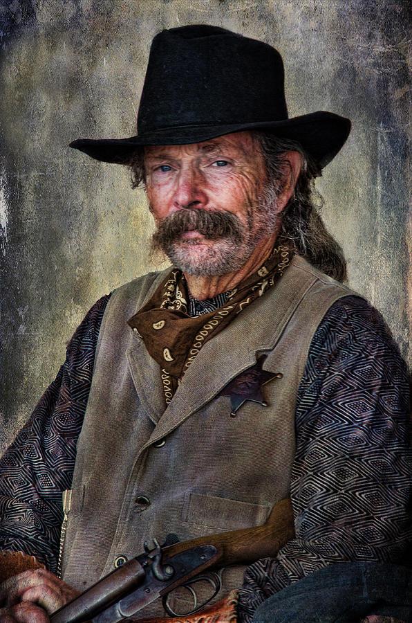 Wild West Photograph - Wild West Cowboy by Barbara Manis
