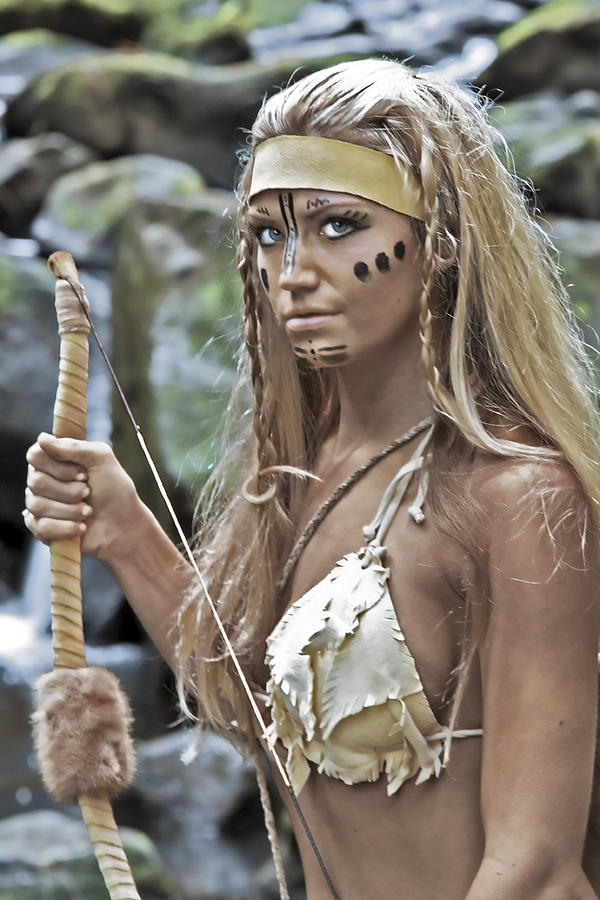 Wild Woman Photograph - Wild Woman 1 by Don Ewing