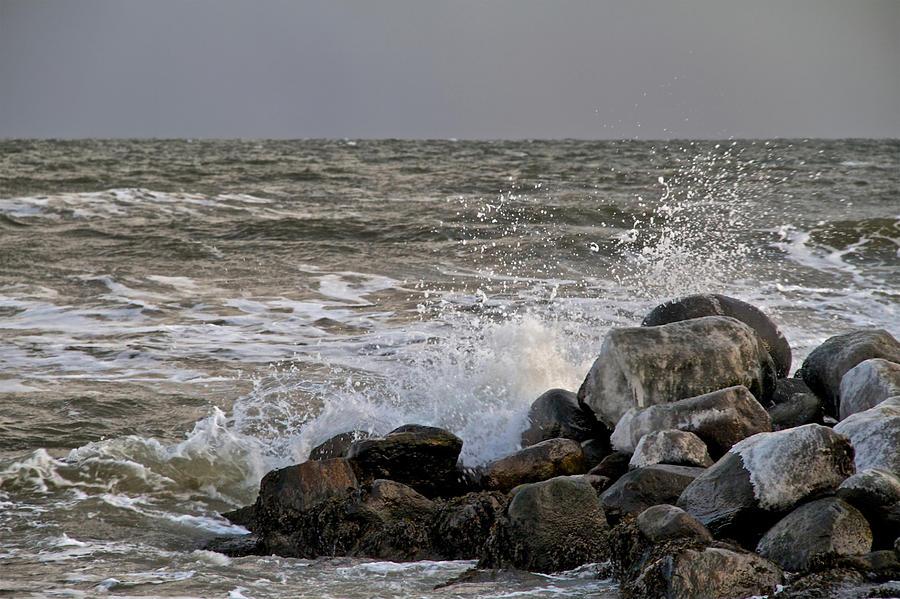 Ocean Photograph - Wild World by Odd Jeppesen