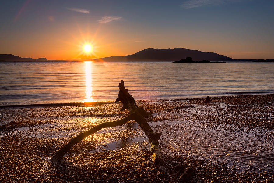 Sunset Photograph - Wildcat Cove by Alexis Birkill