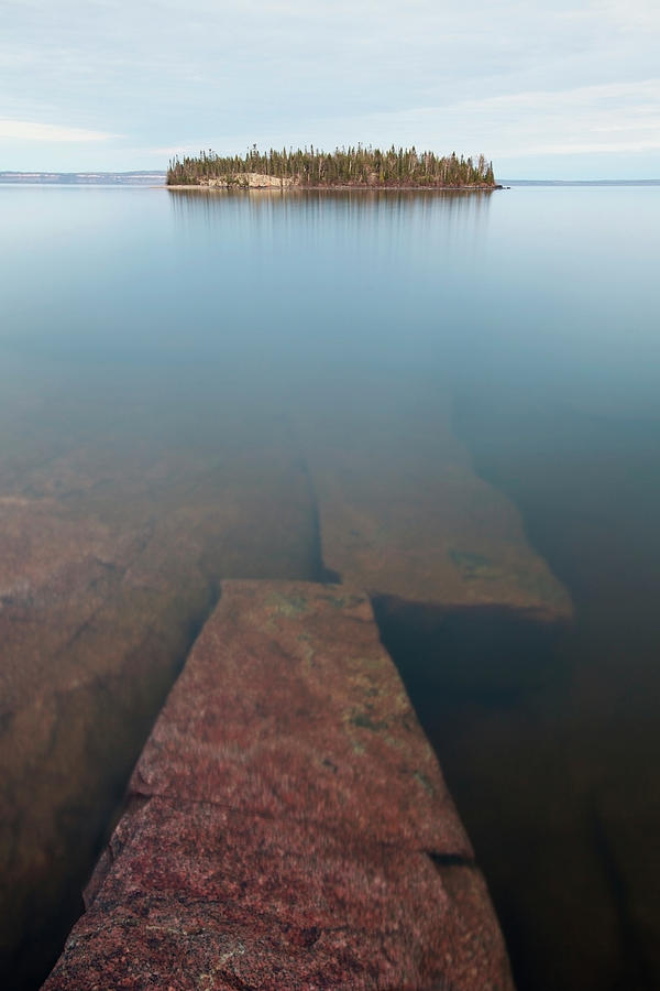Wilderness Island In Lake Superior Photograph by Susan Dykstra / Design Pics