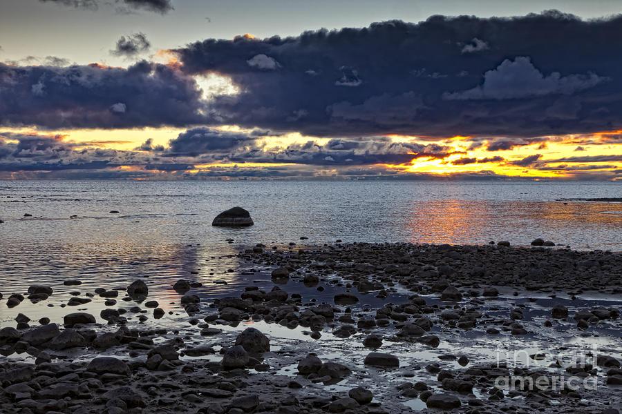 Michigan Photograph - Wilderness Park Sunset by Timothy Hacker