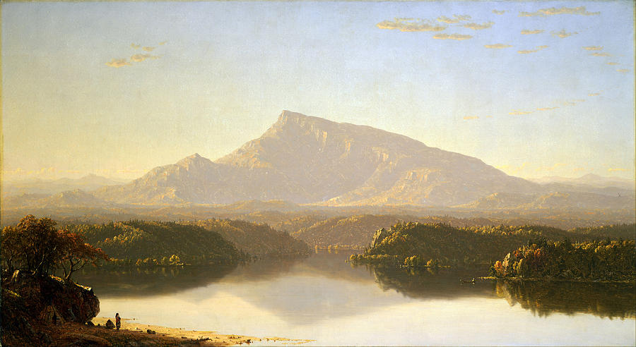 Sanford Robinson Gifford Painting - Wilderness  by Sanford Robinson Gifford