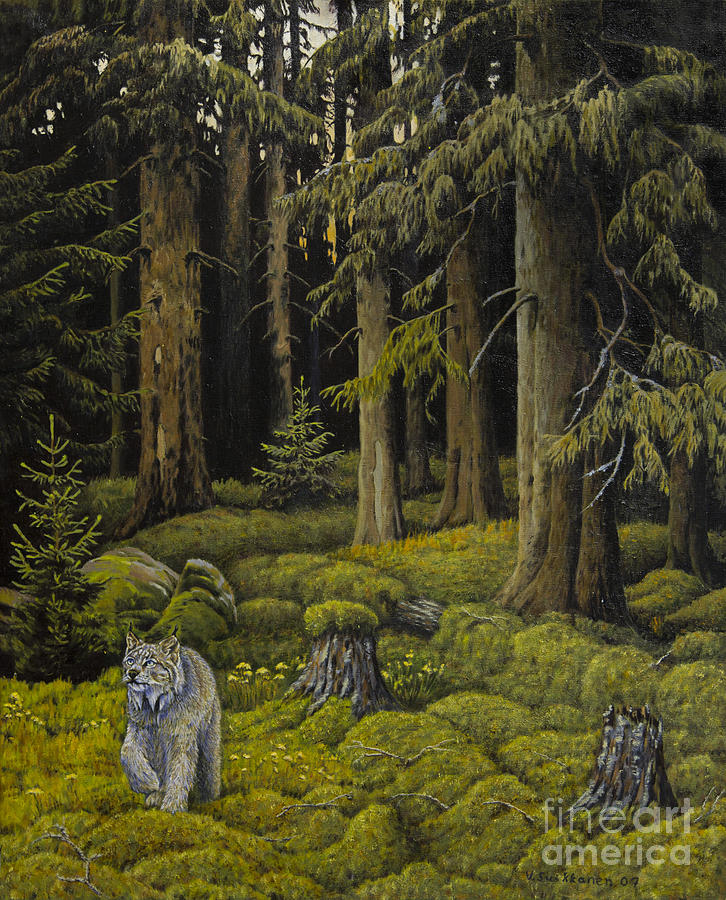 Wilderness Painting