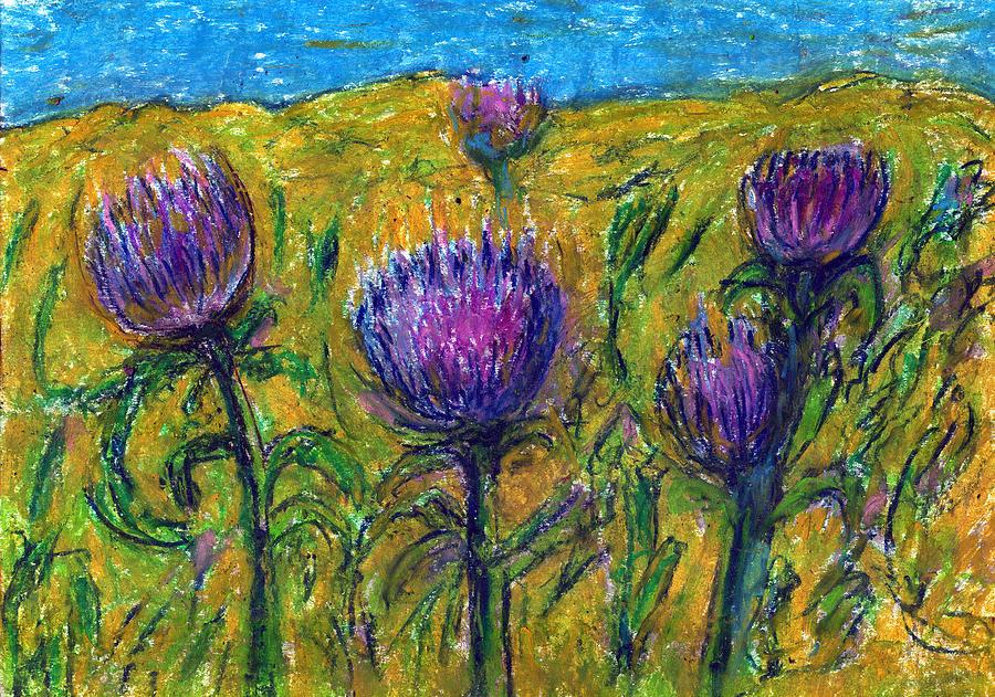 Nature Pastel - Wildflowers by Yuri Lushnichenko