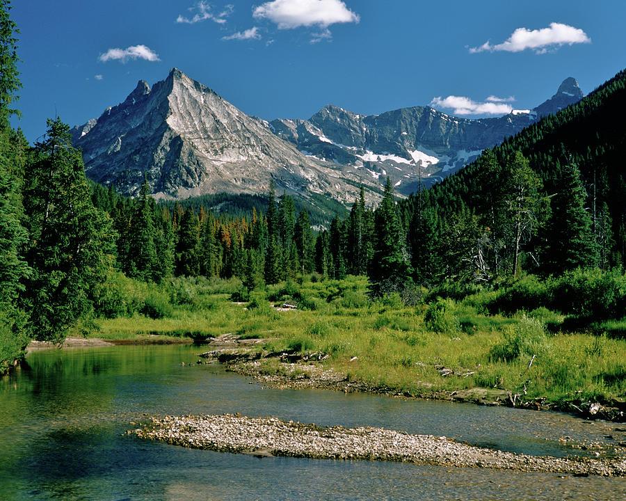 Wildhorse Creek Idaho Pioneer Mountains Photograph By Ed Riche