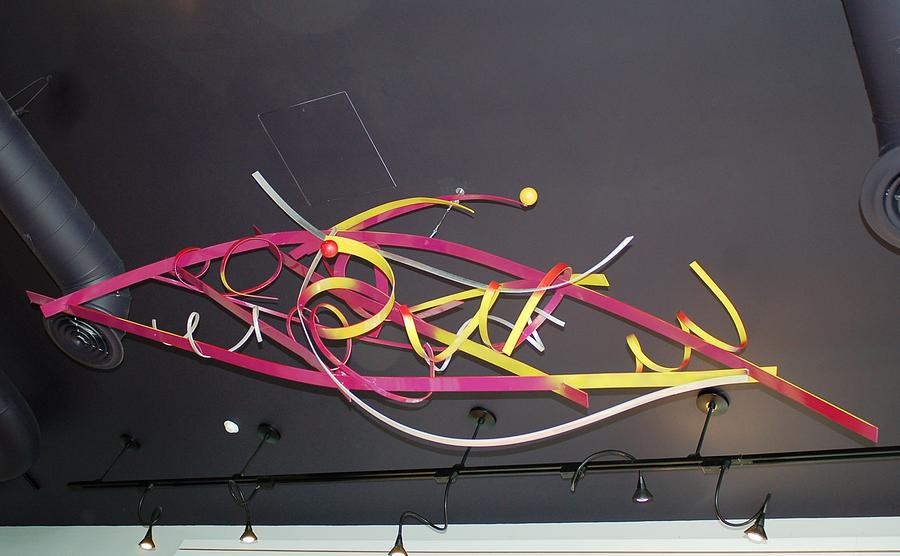 Welded Sculpture - Wildly Flying Angels by Mac Worthington