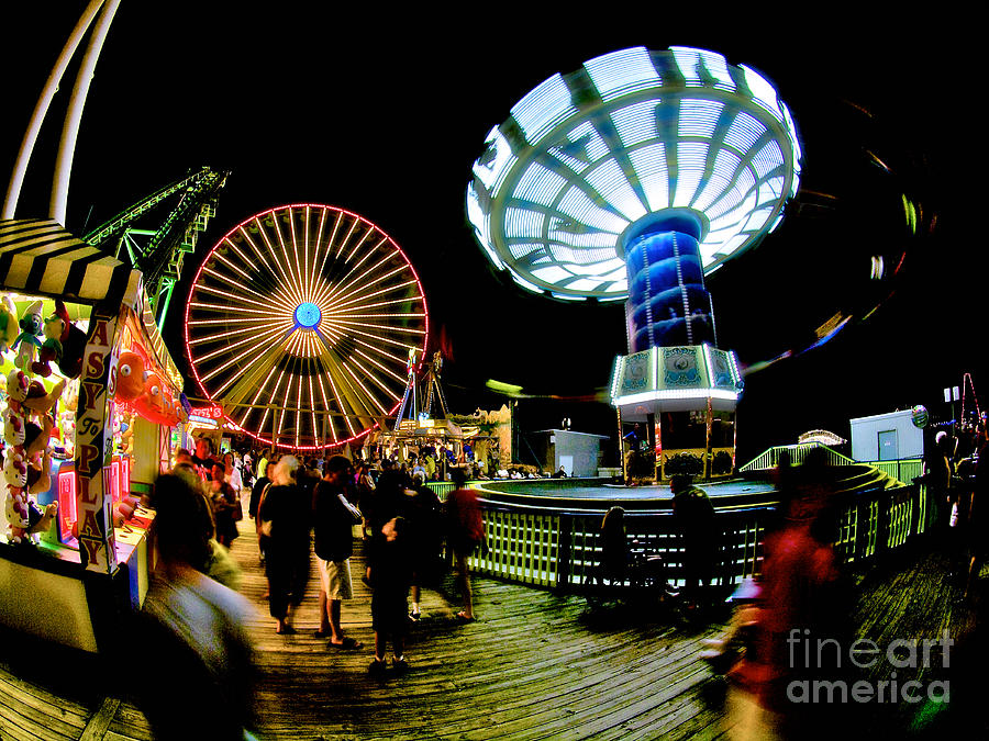Giant Photograph - Wildwood Is A Happy Place by Mark Miller