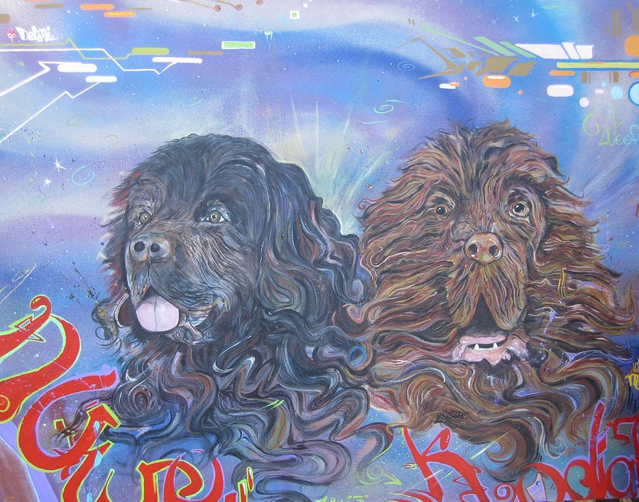 Newfoundland Painting - Will Do Commissions by Erik Franco
