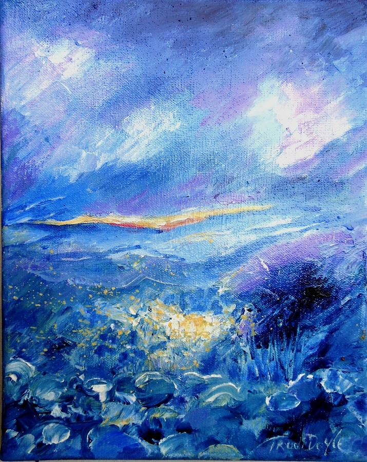 'will-o'-the-wisp Painting - Will O The Wisp  by Trudi Doyle