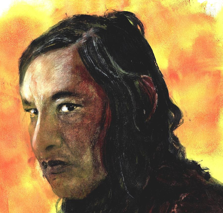Will Sampson Painting by Peter Herel