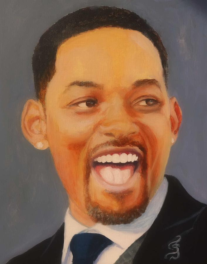 Will Smith Painting - Will Smith by Shirl Theis