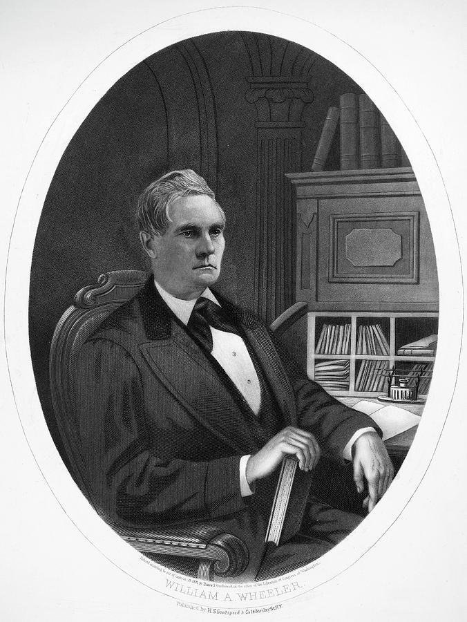 1876 Painting - William Almon Wheeler (1819-1887) by Granger