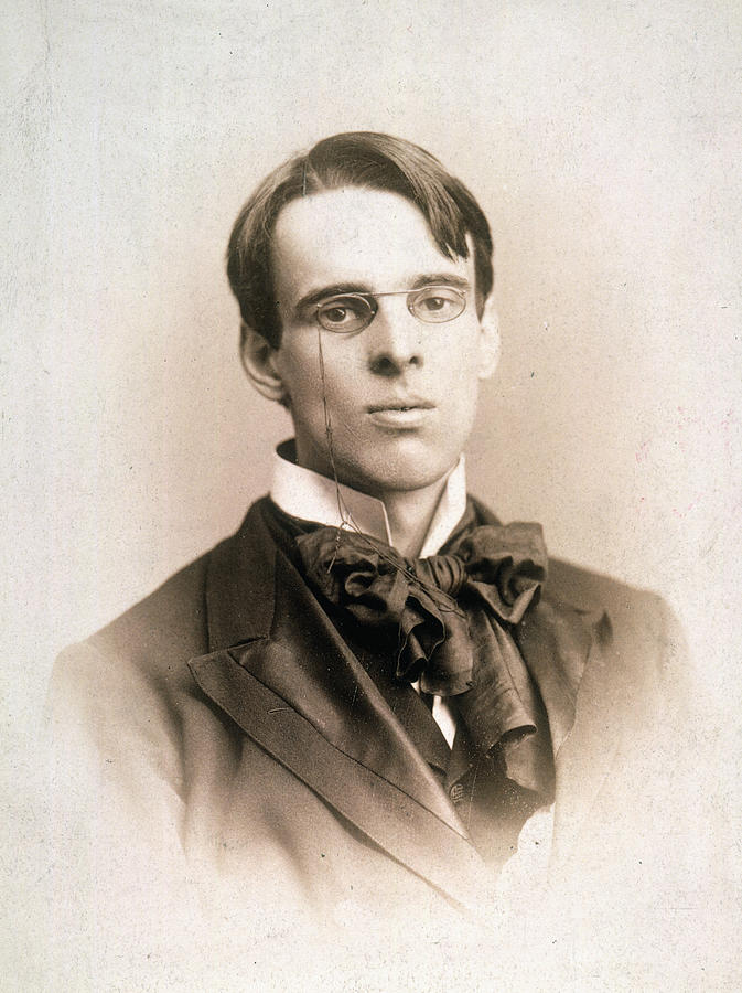 1895 Photograph - William Butler Yeats (1865-1939) by Granger