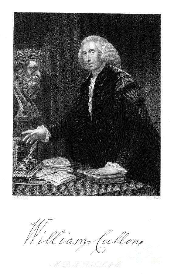 Autograph Photograph - William Cullen (1710-1790) by Granger