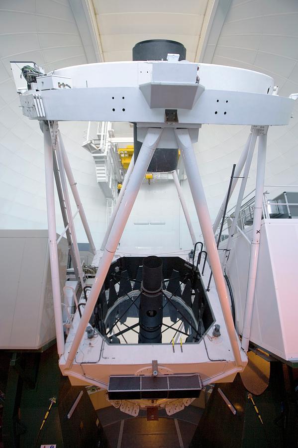 Equipment Photograph - William Herschel Telescope by Adam Hart-davis/science Photo Library