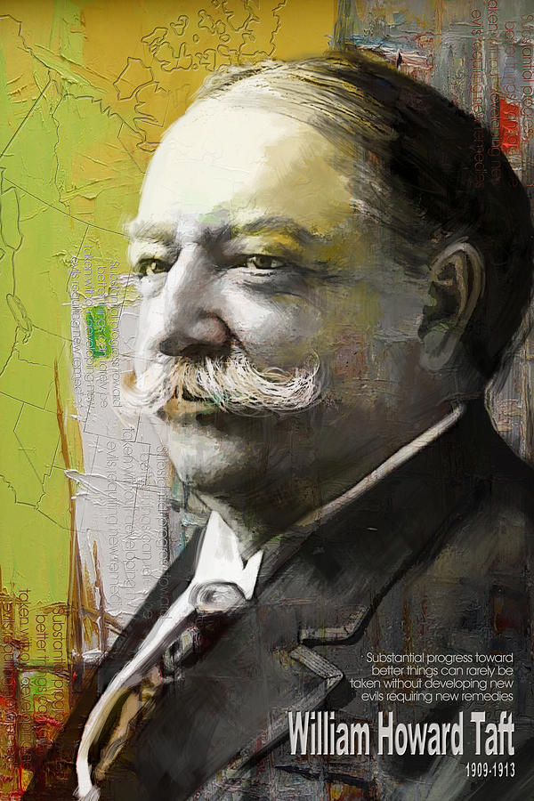 William Howard Toft Painting - William Howard Taft by Corporate Art Task Force