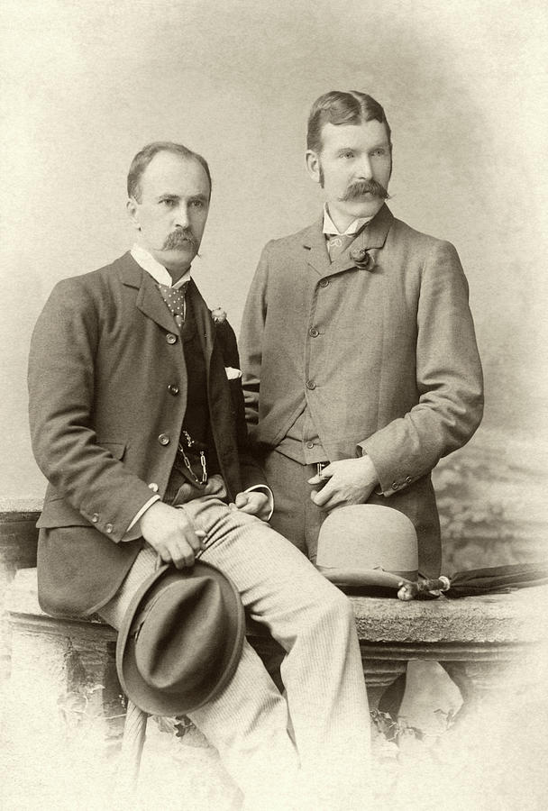William Osler Photograph - William Osler And Ramsay Wright by National Library Of Medicine