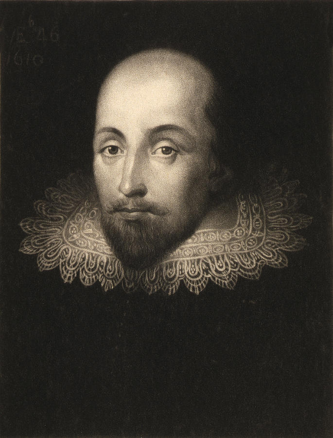 Citaten William Shakespeare : William shakespeare painting by cornelius jansen