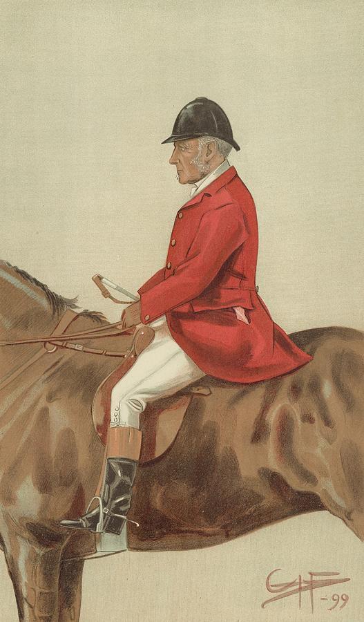 William Ward Tailby Painting by Sir Samuel Luke Fildes