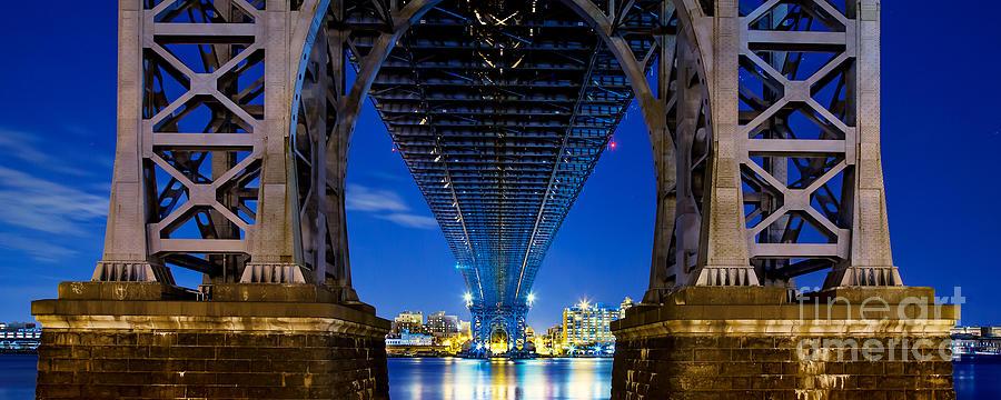 Williamsburg Bridge Panorama Photograph