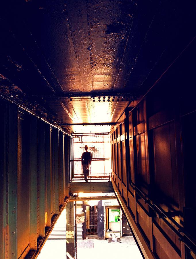 Brooklyn Photograph - Williamsburg - Brooklyn - Hewes Street Overpass by Vivienne Gucwa