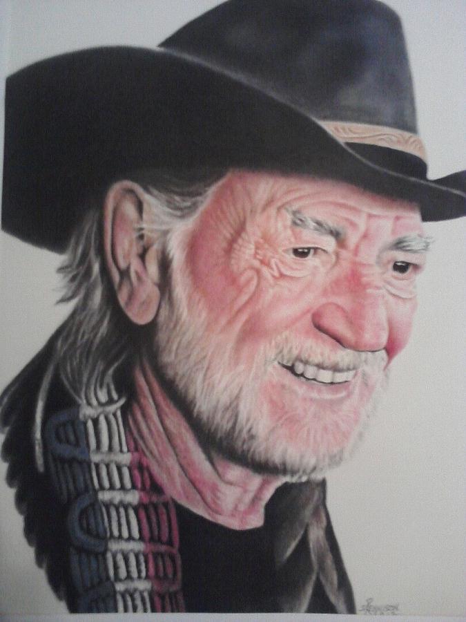 Portrait Pastel - Willie by Dean Nosinner