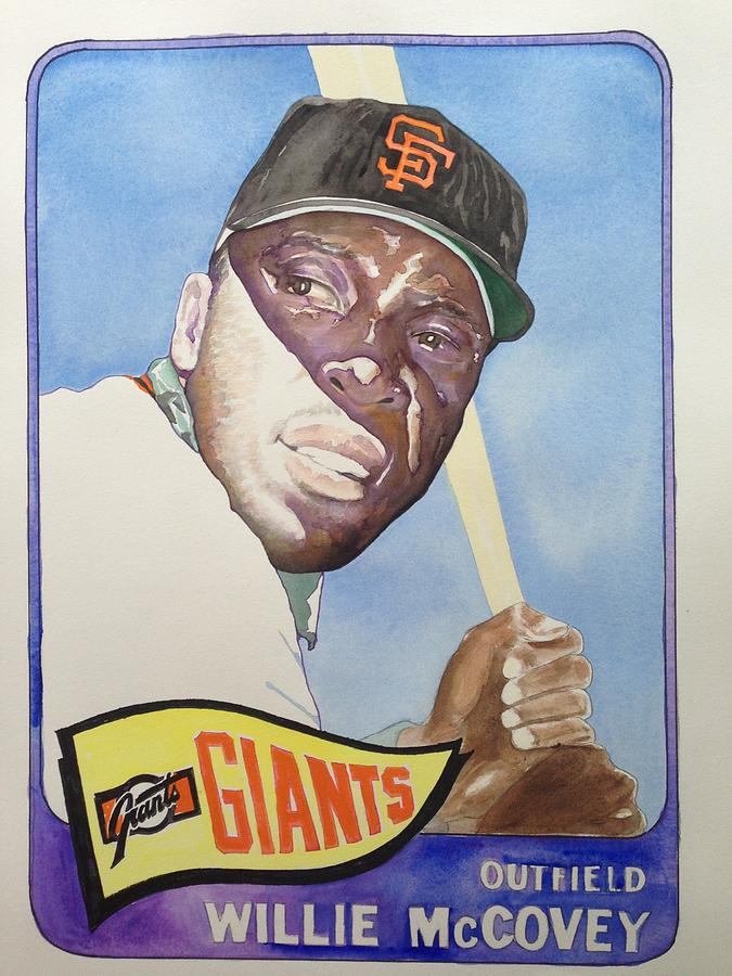San Francisco Painting - Willie Mccovey by Robert  Myers