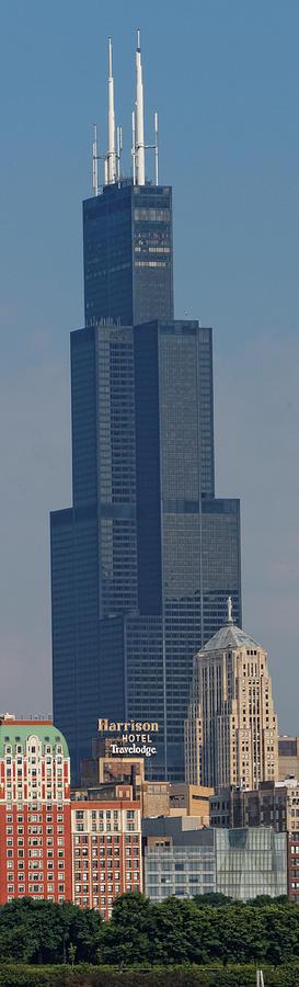 Willis Tower Vertical Photograph