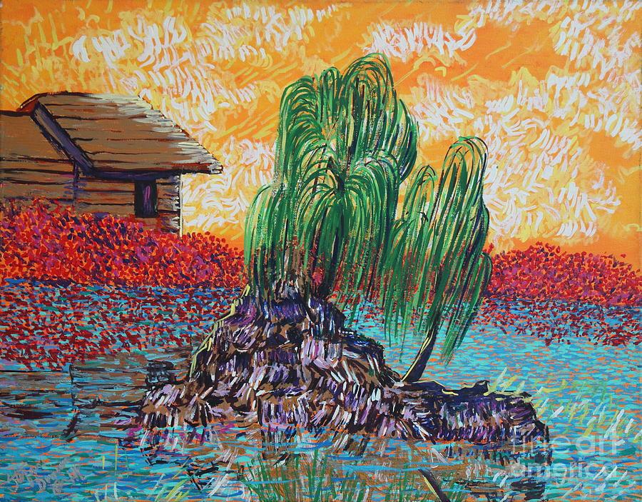 Pussy Willow Painting By Yulia Litvinova