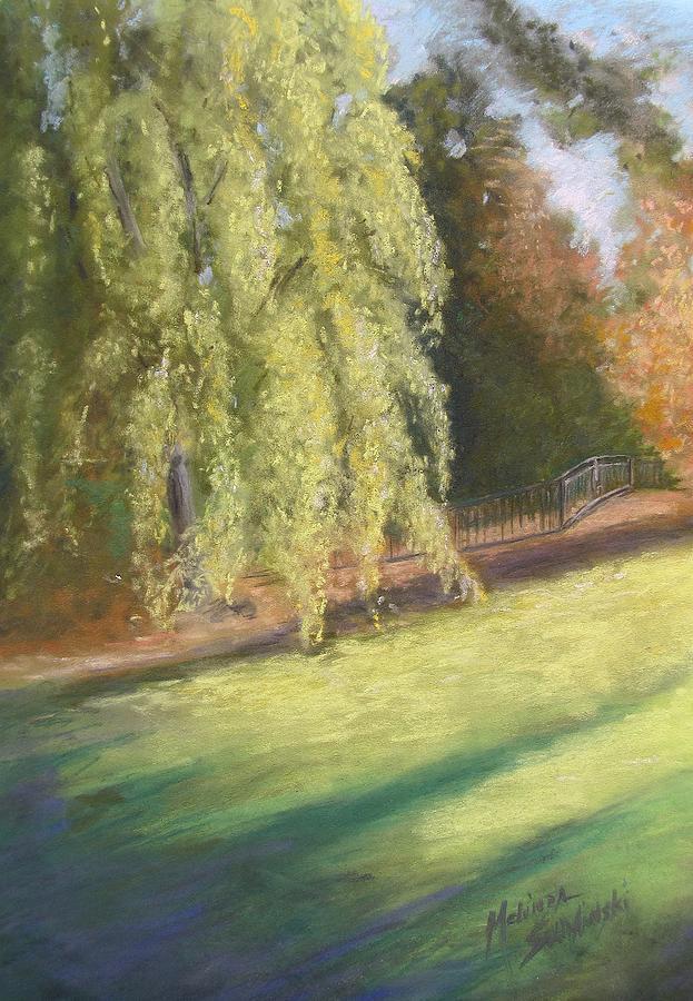 Weeping Willows Pastel - Willow Way by Melinda Saminski