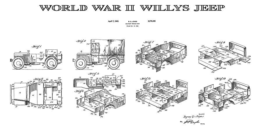 Jeep Patent Art