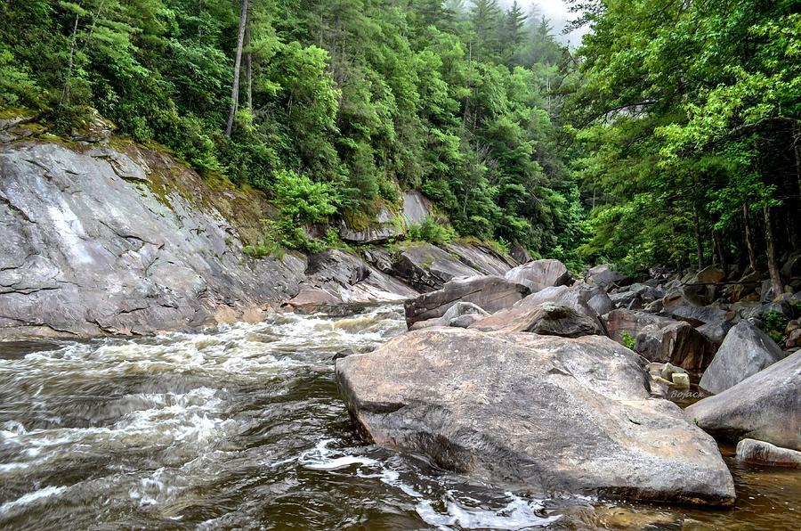 Scenic Photograph - Wilson Creek by Bob Jackson