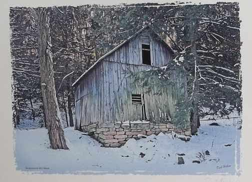 Abandoned Building Photograph - Wilson Mill by Dick Hollon