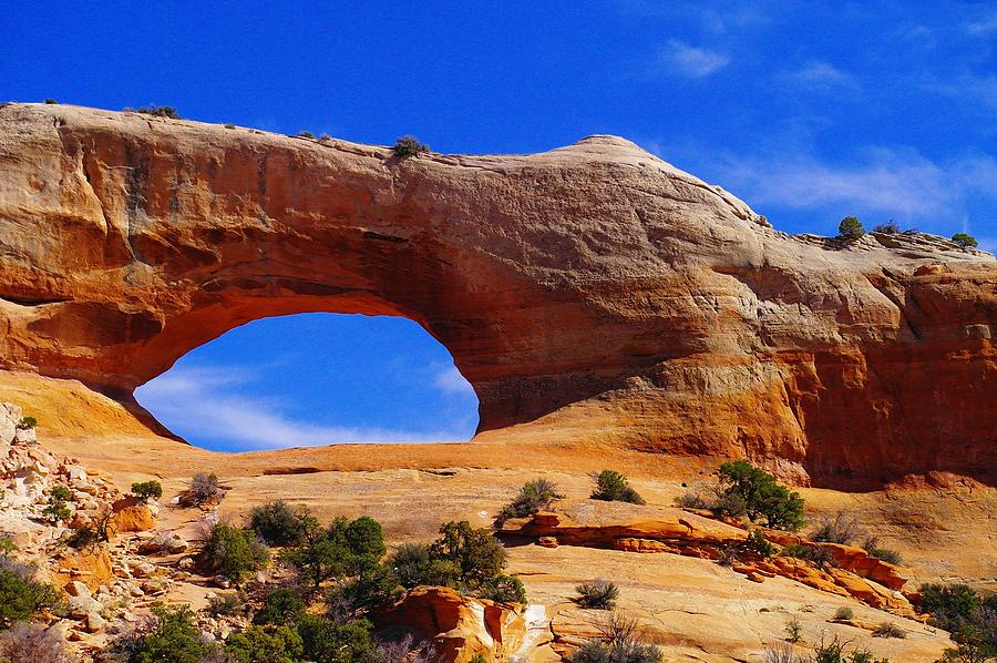 Arches Photograph - Wilsons Arch by Jeff Swan
