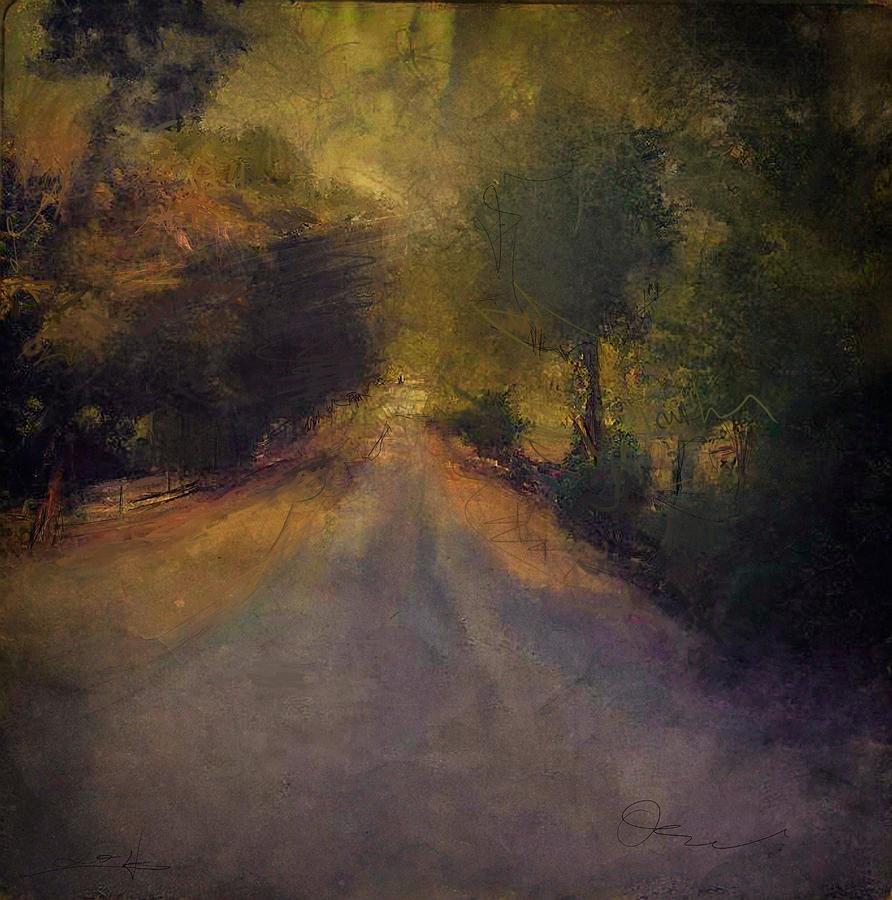 Wilsonville Road Digital Art by W i L L Alexander
