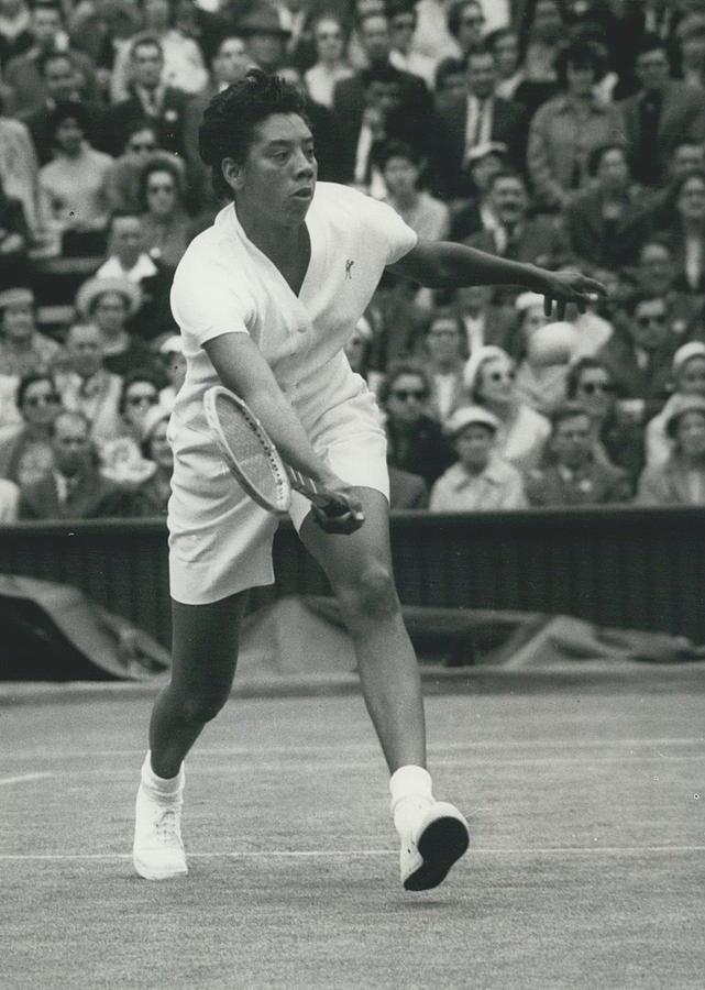 Retro Photograph - Wimbledon Championships - Second Day..., Althea Gibson In by Retro Images Archive