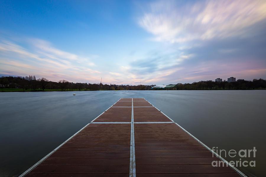 Park Photograph - Wimbledon Park Sunset by Matt Malloy