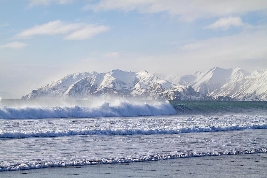 Alaska Photograph - Wind And Waves On Kodiak by Tim Grams