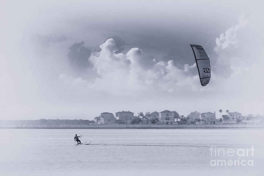 Wind Surfing Photograph - Wind Beneath My Wing by Marvin Spates