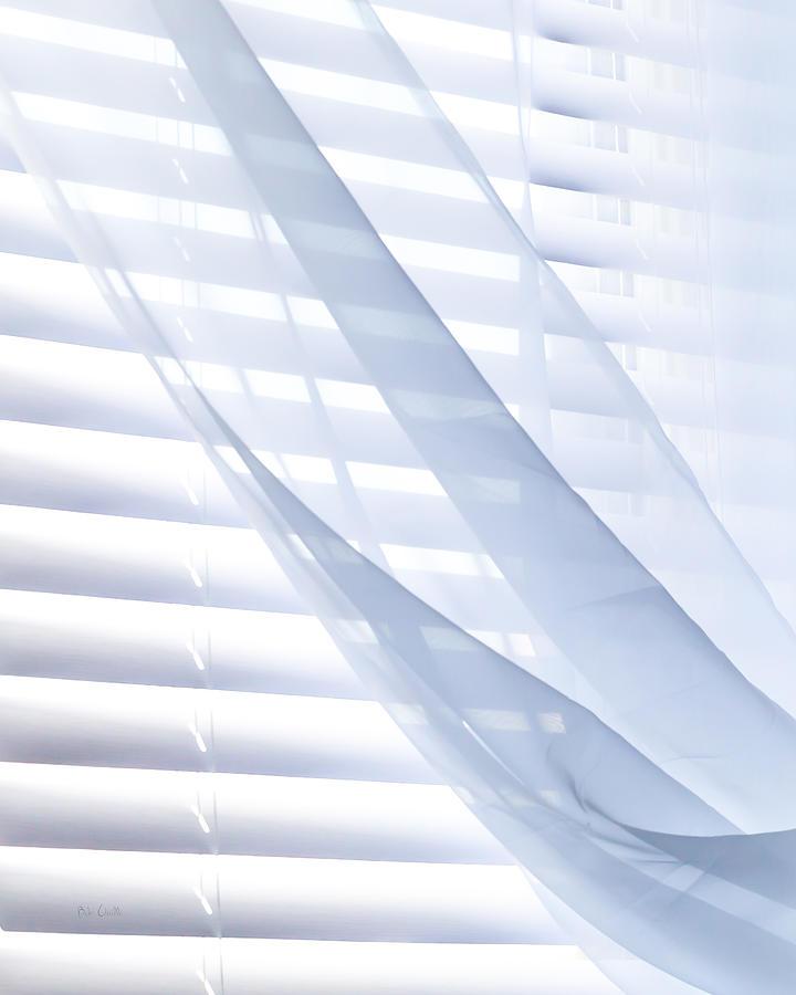 Wind Photograph - Wind Blue Window by Bob Orsillo
