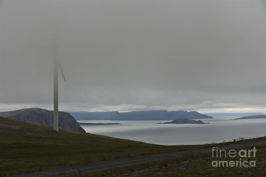 Wind Turbine Photograph - Wind Energy by Heiko Koehrer-Wagner