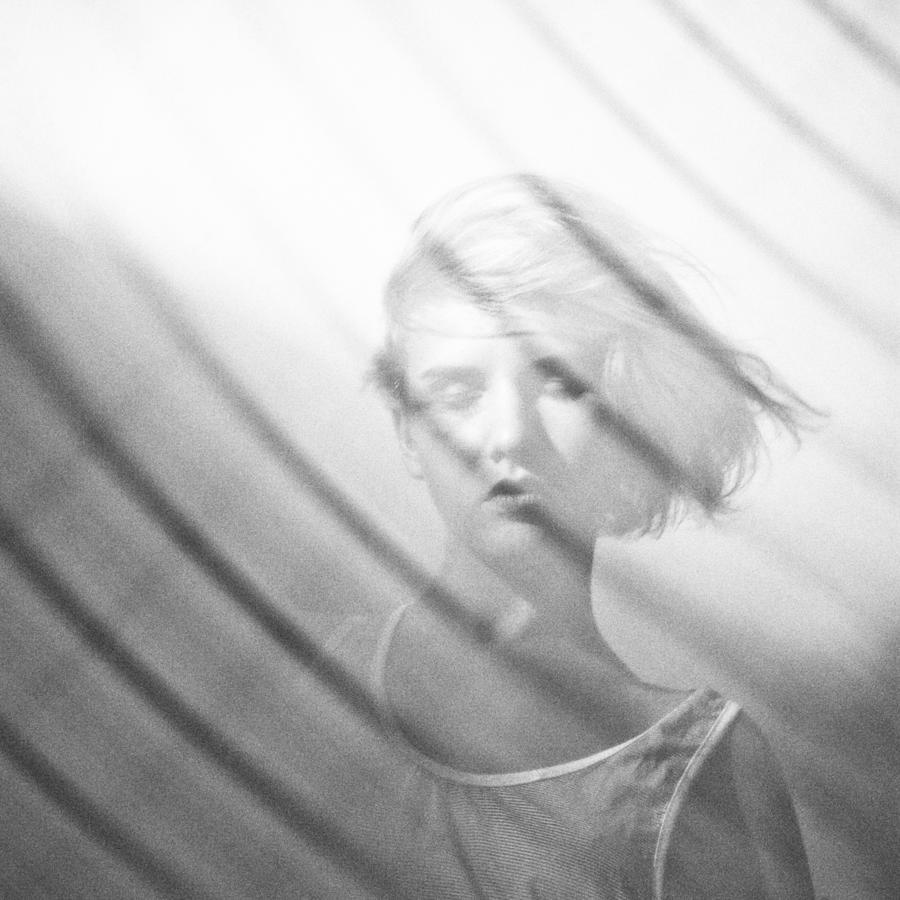 Girl Photograph - Wind by Eugenia Kirikova