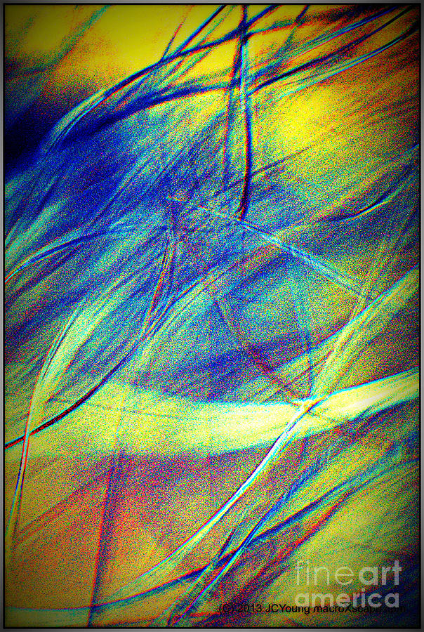 Wind Digital Art by JCYoung MacroXscape