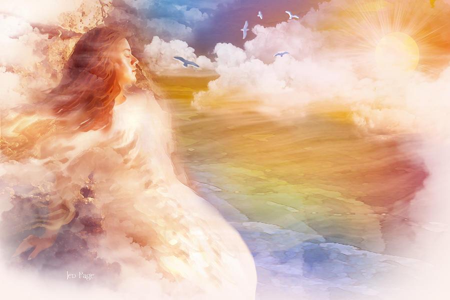 Jennifer Page Digital Art - Wind Of His Glory by Jennifer Page