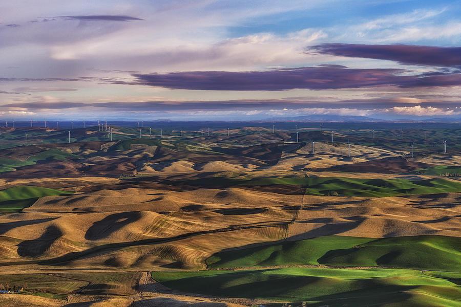 Palouse Photograph - Wind by Ryan Manuel
