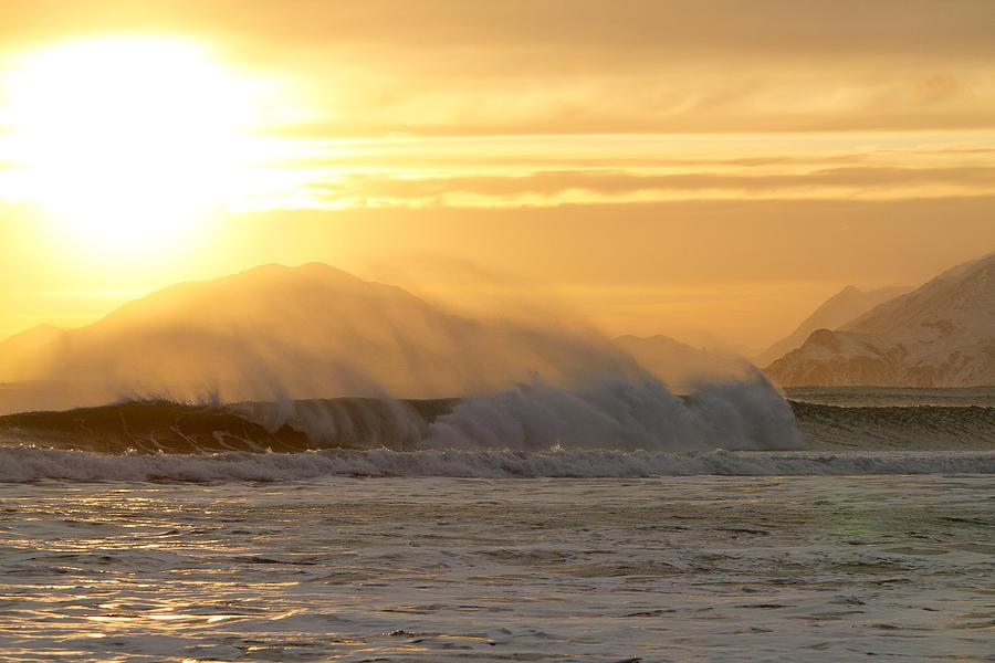 Alaska Photograph - Wind Shear by Tim Grams